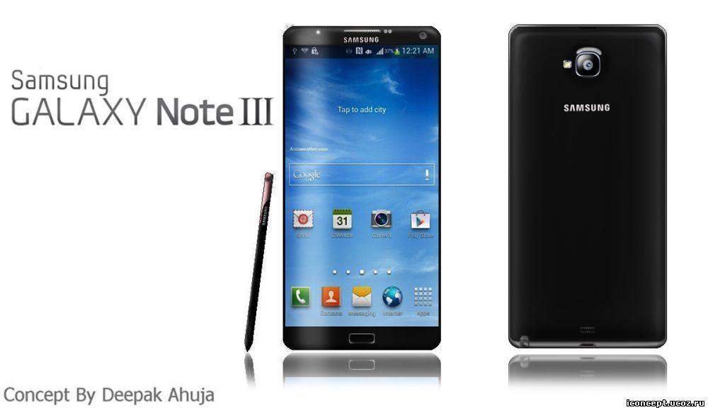 Samsung Galaxy Note 3 выйдет с региональной привязкой- А вот и сам герой дня!